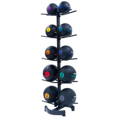 Стойка для медицинских мячей, вертикальная (на 10 штук)