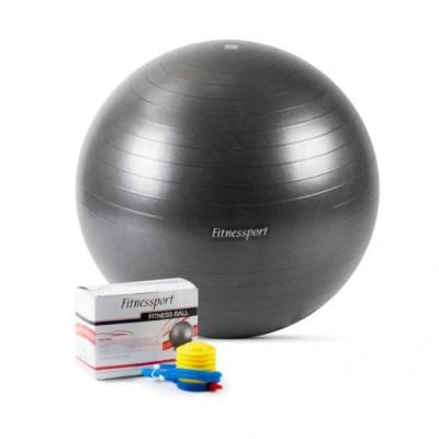 Мяч гимнастический (черный), 65см.