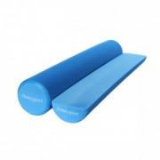 Цилиндр для йоги, синий