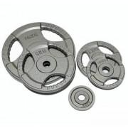 Диск олимпийский металлический (покрытие молотковое) 2.5кг.