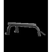 BRONZE GYM H-036 Скамья горизонтальная (ЧЁРНЫЙ)
