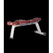 BRONZE GYM H-036A Скамья горизонтальная (КОРИЧНЕВЫЙ)