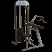 Блочный тренажер бицепс-трицепс с весовым стеком 95 кг